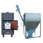 Pachet Cazan Celsius Combi 25-29kW (Arzator 30kW) - Lemne/Peleti
